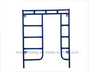Walk Through Frame Scaffolding System for Construction pictures & photos