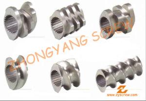 Segment Screw Barrel for Twin-Screw PVC Pelletizing pictures & photos