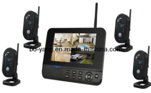 2.4GHz 4CH Wireless Digital Camera with IP Camera Function