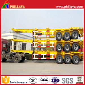 Container Transport Chassis Semi Truck Trailer Long Vehicle pictures & photos