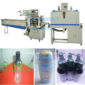 Ce Certificated Full Automatic Cosmetic Bottles Shink Wrapping Machine pictures & photos