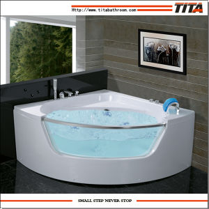 Small Corner Bathtub Tmb057 pictures & photos