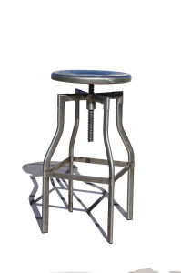 Industrial Metal Restaurant Dining Furniture Steel Turner Bar Stools pictures & photos