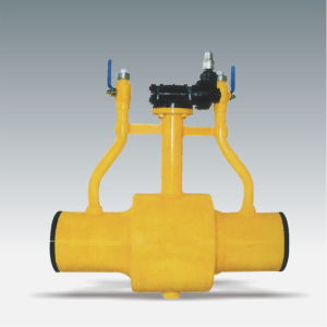 High Quality and High Pressure Fully Buried Welded Ball Valve pictures & photos