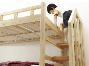 Solid Wooden Bed Room Bunk Beds Children Bunk Bed (M-X2220) pictures & photos