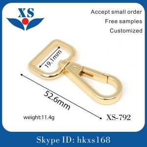 Small Metal Bag Swivel Snap Hook pictures & photos