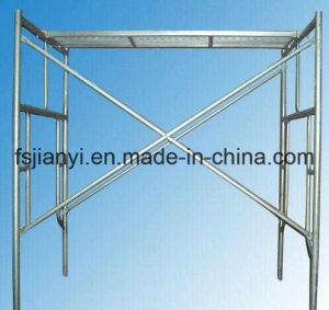 Adjustable Steel Pin Lock H Frame Scaffolding pictures & photos