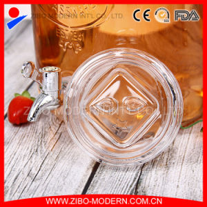 Wholesales Clear Glass Beverage Dispenser with Tap pictures & photos