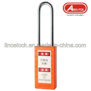 Lockout Safety Padlock/Plastic Safety Lock (613) pictures & photos