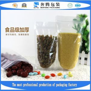 Self Zipper Packing Bag for Food Grade Material