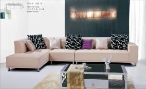 Furniture Living Room Leather Sofa pictures & photos