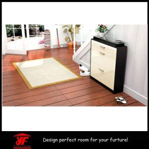 Modern Furniture Multi-Purpose Mirror High Gloss Shoe Cabinet