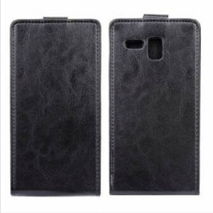 up-Down Flip PU Leather Case Cover for A808t