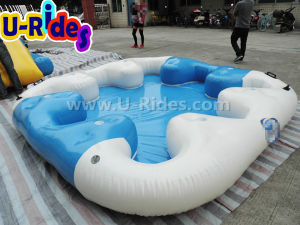Inflatable Island Raft for Party or Water Park pictures & photos