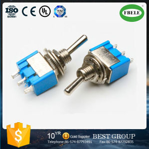 Micro Switch on-on Toggle Switch Miniature Switch (FBELE) pictures & photos