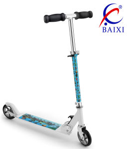 Kid Scooter with Big Wheel (BX-1103B) pictures & photos