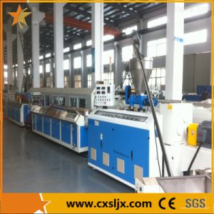 WPC PP PE and Wood Composite Profile Extruder Machine pictures & photos