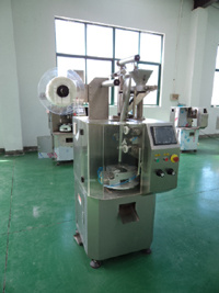 Auto Pyramid Tea Bag Packing Machine (alternative with tag and thread) pictures & photos