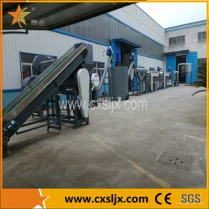 Pet Bottle Flakes Crushing Washing Drying Production Line pictures & photos