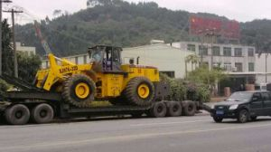 Diesel Powered Forklift Wheel Loader for Sale pictures & photos