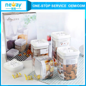 China Neway Storage Plastic Jar pictures & photos