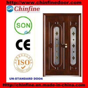 2017 New Design Steel Security Doors (CF-1911G) pictures & photos