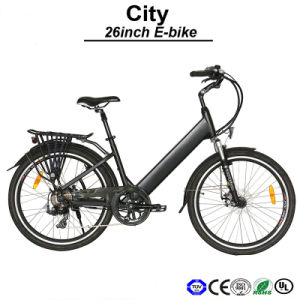 Lithium Hided Battery Bike City Electric Bicycle (TDF05Z) pictures & photos