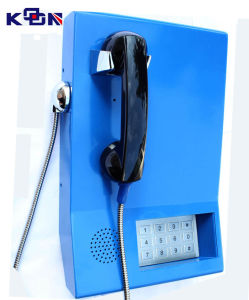 Handset Phone for Bank Services Public Telephone Metro Telephone Knzd-22 pictures & photos