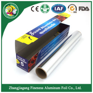 Household Aluminum Foil Roll for Food Wrapping pictures & photos