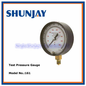 Black Steel Master Pressure Gauge pictures & photos