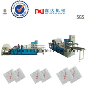 Automatic Embossing Printing Interfold Tissue Napkin Serviette Paper Machine pictures & photos