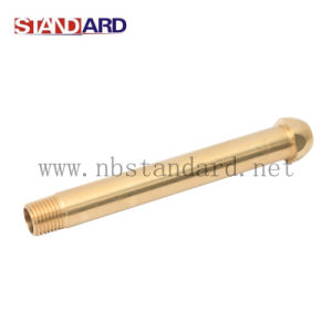 Gas Fitting Long Pipe with NPT Thread pictures & photos
