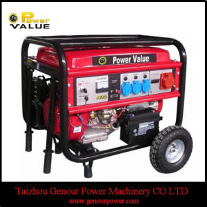 with Tir Kit China 6kw 6kVA Electric Generator for Domestic pictures & photos