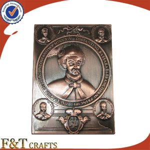 Custom Enamel Crest Coin Without Color pictures & photos