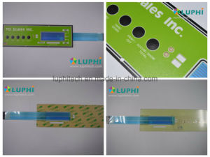 Metal Dome Flexible Circuit Membrane Switch with LED Backlighting pictures & photos