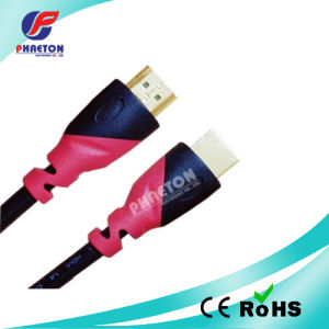 1080P Two Color HDMI Cable with Goldend Plated Plug (pH6-1213) pictures & photos