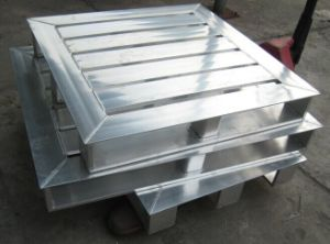 Aluminium Food-Stuff Industry Transportation Pallet pictures & photos