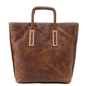 Full Grain Leather Genuine Leather Women′s Handbag (RS-6012) pictures & photos
