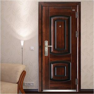 70mm High Quality Single Metal Door pictures & photos