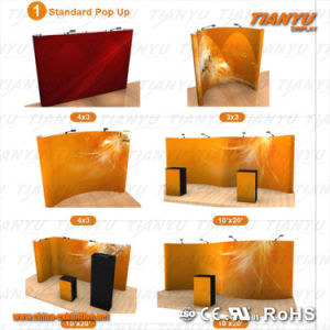 Promotion Aluminum Fast PVC Fabric Pop up Stand pictures & photos