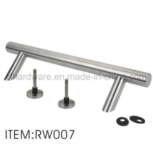 Furniture Stainless Steel Wooden Door Handle (RW007) pictures & photos