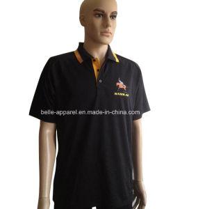 Customed Men′s Polyester Cotton Polo Shirt pictures & photos