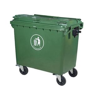 Injection HDPE Dustbin 660L pictures & photos