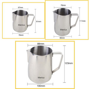 Different Sizes Stainless Steel Latte Art Frothing Pitcher pictures & photos