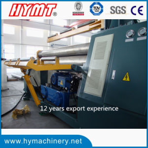 W11H-20X2500 hydraulic Bottom rollers Arc-Adjust plate bending rolling machine pictures & photos