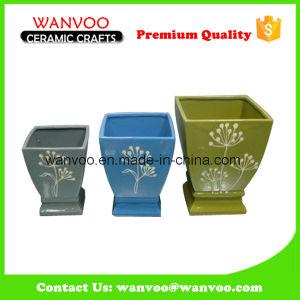 3 Modern Home Decor Ceramic Flower Vase pictures & photos