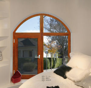 Price of Thermal Break Aluminium Window with Mosquito Screen pictures & photos