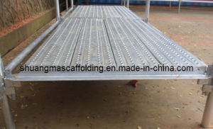 Perforated Steel Scaffolding Plank From Guangzhou pictures & photos