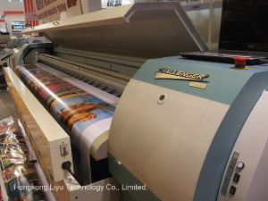 10FT Solvent Plotter Fy-3278n with Seiko Spt510/50pl Heads 720dpi pictures & photos