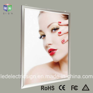 Slim Aluminum Profile LED Photo Frame pictures & photos